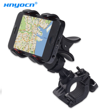 Universal Motorcycle MTB Bike Bicycle Phone Holder Handlebar Mount Holder for Ipod Cell Phone GPS for Xiaomi Redmi Phones Etc(China)