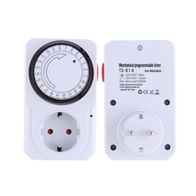 24 Hour Mechanical Electrical Plug Program Timer Power Switch Energy Saver Hot selling