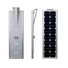 12v 30W  All-in-one solar street light wireless outdoor solar powered heat lamp 1500lm Rust-proof waterproof solar system lamp