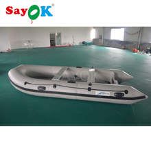 8 person aluminium floor pvc inflatable boat fishing inflatable kayak boat inflatable rescue boat for sale(China)