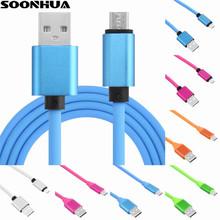 4 Colors1.2M Quick Charging Android Micro USB/Type-C Silicone Cable Data Sync Fast Charge Cables For Smartphone
