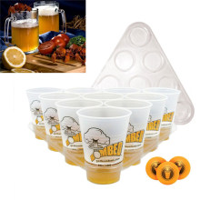 New Arrival Beer Pong Party Fun Kit 22 Cups 3 Balls For Adult Freinds Table Top Board Games Drinking Game Pub Bar BBQ Gift(China)