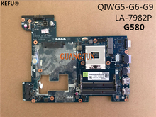KEFU Free Shipping LA-7982P High Quality For Lenovo G580 Laptop Motherboard 100% Tested(China)
