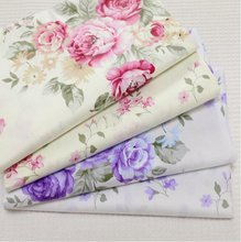 2016 New fashion 2pic/lot 40x50cm Cotton Patchwork Fabric Sewing quilts Tissue pillow dress Bedding tecidos DIY Doll cloth xl17