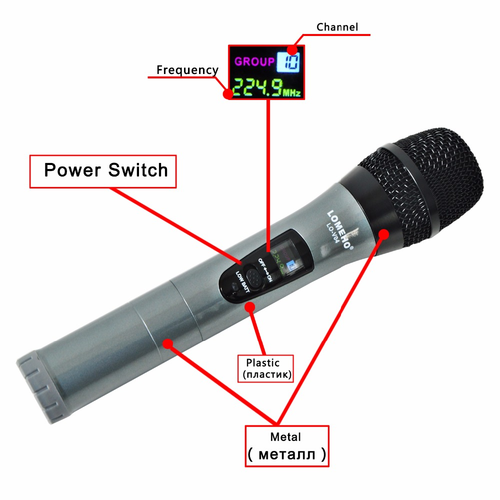 LO-V04H2 21  Wireless Microphones