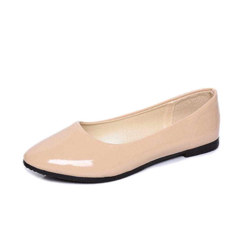 2016 Brand New Candy Colors Girl Flat Shoes Hot Wholesale Soft Ballet Zapato PU Leather Point Toe Women Casual Shoes<br><br>Aliexpress