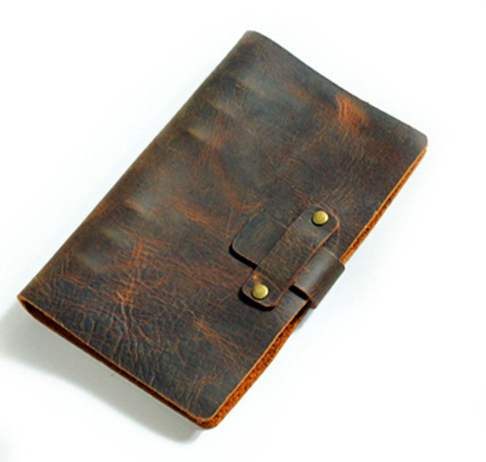 Passio Handmade Refillable Leather Travelers Journals Diary genuine leather notebook diary notepad notebook handmade A5 22*17cm<br>