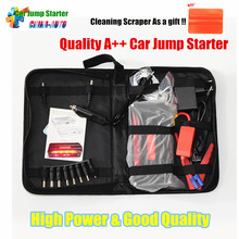 Portable Car Jump Starter Power Bank Emergency Car Battery Booster Vehicle Jump Starter Charger SOS Lights for Petrol Diesel Car