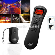 New Intervalometer Wireless Timer Remote Control Shutter Release for Canon Rebel T5i T4i T3i T2i T1i T5 T3 XS XSi XTi XT(China)