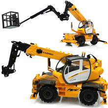 New KDW 625048 1:50 Multi - purpose cranes Simulation alloy car model truck Boxed kids toy Engineering vehicles crane boy gift