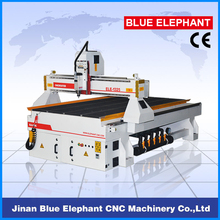 China Good Character Servo Drive Motor CNC Router Manufacturer High quality Good Price Step motor ELE1325 CNC Machine Vacuum(China)