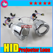 Universal H3 HID Xenon Bulb Conversion Projector Lens Fog Lamp/Lights w/ Halo CCFL Angel Eye H1 H4 H7 HID projector lens