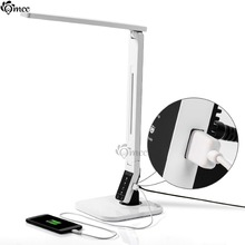 14W multi-function Touch Control LED Table Light,USB rechargeable Dimmable Warm White Pure,Iphone Ipad Charger,folding Desk lamp