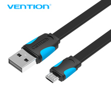 Vention Micro USB2.0 Cable For Mobile Phone Charging Cable Super Charger 1.5m 1m USB Data Sync Cable For Samsung Android Cable