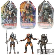 3pcs/set  Alien enforcer predator the ultimate alien hunter elder predator v2 cool pvc action figure model toy collection doll