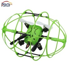 RC Drone 2.4G  6-Axis Gyro RTF Mini  Remote Control Quadcopter 360 Degree Flips Rugby Football With 3D Flips and Wall Climbing