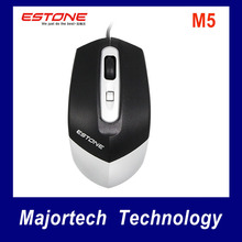 Estone M5 USB Wired Mouse Fashion New Special Design Professional Cable Mice Computer Desktops Laptops Worldwide Hot Sale