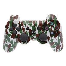 Camouflage Camo Wireless Game Controller Bluetooth Gamepad for Sony PS3 Controller Playstation 3 Dualshock 3 Joystick Console