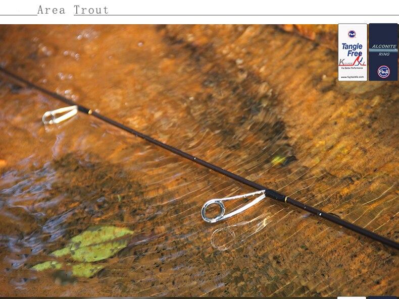 Tsurinoya 4' 6 UL Carbon Spinning Rod 1-6g Lure Weight, 2-6lb Line Weight Ultralight Fuji Fishing Rod Carbon Ul Spin Rod  (20)