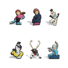 New 9pcs/lot of Snow Princess Cartoon Magnet Refrigerator stickers School Kid Party Gift toy
