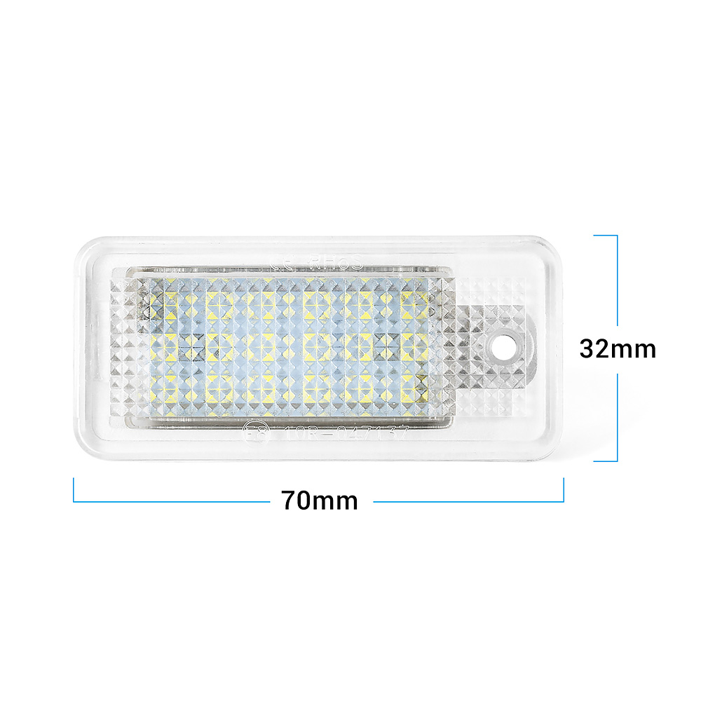 LED License Number Plate Light Lamp Error Free Audi A5 S5 A6 C6 S6 RS6 A8 S8 Q7