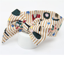 Nice Design Baby Girls Headband Elastics For Newborns Elastic Turban Bow Knot Hair Head Band Perfect Gift Fast Shpping