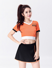 Excited Fashion Style Glee Cheerleading Uniforms Sexy Dress Uniform Adult Girls Cheerleader Costume From China