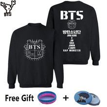 BTS K-pop Capless Hoodies And Sweatshirt For Couples Popular Bangtan Hip Hop Hoodies Women Winter Fashion Casual Female Clothes
