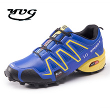 2017 Hiking Shoes Waterproof Outdoor Walking Sport Comfortable Breathable Sports Shoes Men 's Shoes Speed 3 Cross High Quality