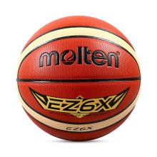 Molten EZ6X Size 6 Women's Basketball Ball Outdoor Training PU Leather Basketball Ball With Basket Ball Net+Pin+Needle(China)