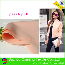 Professional Manufacturer Supplying knitted spandex stretch drapery neoprene fabric for sale