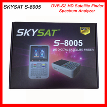 HD Satellite Finder Meter SKYSAT S-8005 DVB-S2 MPEG4 Professional Menu 3.5 inch LCD Screen Spectrum Analyzer