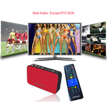 2017 HOT Ipremium Tvonline Avov Android Smart Tv Box With MediaPro IPTV Arabic Germany Russian Channels Tv Online Iptv Box(China)