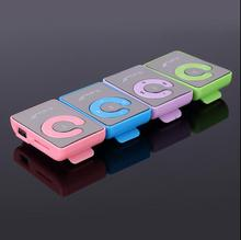 Mirror Clip Mp3 player No memory No screen With Card Reader function