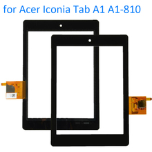 ALANGDUO for Acer Iconia Tab A1 A1-810 A1-811 A1 810 Tablet Touch Screen Digitizer Glass Front Panel Replacement Touchscreen