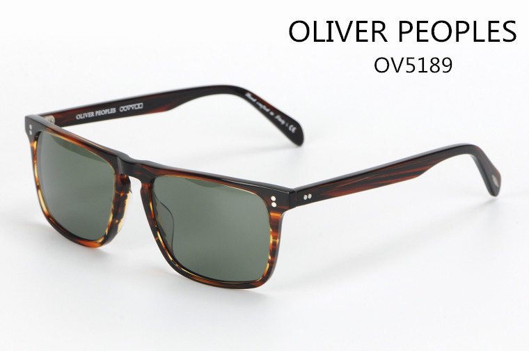 New high quality brand glasses Oliver peoples 5189S rectangular sunglasses men and women retro beach travel sunglasses<br><br>Aliexpress