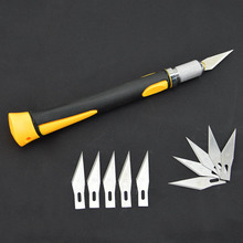 11 Pcs Blades Carving Handle Woodworking Carving Tools Fruit Food Craft Sculpture Engraving Knife Sculpture Carving Knife(China)