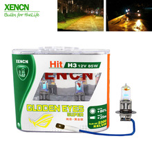 XENCN H3 2300K 12V 85W Golden Eyes Super Yellow Original Car Halogen Fog Light OEM Quality Auto Lamp for audi a6 a4 opel vectra(China)