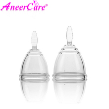 Medical silica gel menstrual cup can be wholesale reusable for women high quality health silicone menstrual cup(China)