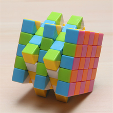 Cube Magic Squares Puzzles Hand Spinner Toys Puzzle Cube Anti Stress 5x5x5 Mini Neokub Neo Cubo Magico Stickerless 70K418
