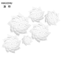 HAOCHU 6PCS DIY White Wedding Bridal Shower Bachelorette Hen Party Photo Booth Props Kits Church New Year Home Decor(China)