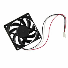 Cooling Fan Factory Price Hot Selling Computer Case Cooler 12V 7CM 70MM PC CPU Cooling Cooler Fan Drop Shipping(China)