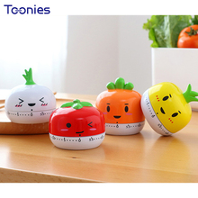 Tomato Timer Kitchen Tomato Mechanical Cook Timing Reminding Miniature Home Decor Funny Students Creative Countdown Alarm Clock(China)