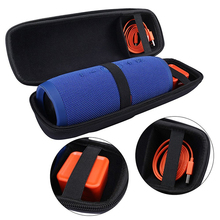 100% Brand New Travel Carrying Storage Case For JBL Charge 3 /Charge 2 Speaker Extra Room For Charger and USB Cable(With Belt)