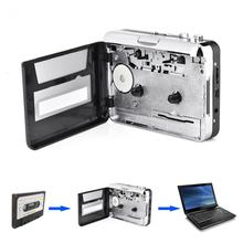 VBESLIFE USB Cassette Tape to PC MP3 CD Switcher Converter Capture Audio Music Player with Headphones(China)