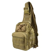 Tactical Backpack Messager Bags Men Women 44*18*18cm 0.38kg Military Nylon Chest Pack Outdoor Bandage Travel Shoulder Molle Bag(China)