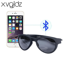 Xvgidz Sport Stereo Wireless Bluetooth Headset Sun lens Earphones Sunglasses mp3 Riding Glasses for xiaomi iphone mobile phone