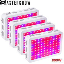 4PCS DIAMOND II 800W Double Chip LED Grow Light Full Spectrum 410-730nm For Indoor Plants and Flower Phrase with Very High Yield(China)