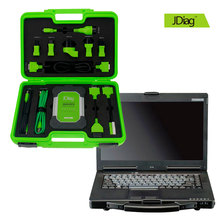 100% Original JDiag Elite II Wireless with CF53 Laptop Automotive J2534 Diagnostic and Programming Tool Software Preinstalled