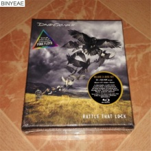 BINYEAE- new CD seal: Pink Floyd David Gilmour Rattle That Lock CD + Blu-ray perfect disc [free shipping](China)